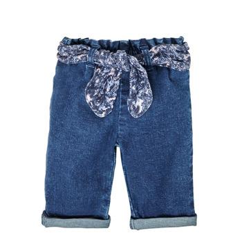 Îmbracaminte Fete Jeans drepti Ikks XS29000-86 Albastru