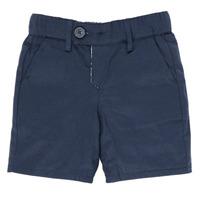 Îmbracaminte Băieți Pantaloni scurti și Bermuda Ikks XS25021-45 Albastru