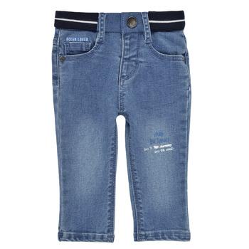 Îmbracaminte Băieți Jeans slim Ikks XS29001-83 Albastru