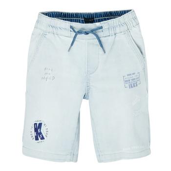 Îmbracaminte Băieți Pantaloni scurti și Bermuda Ikks XS25223-82-J Albastru