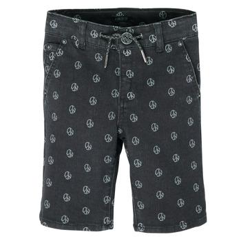 Îmbracaminte Băieți Pantaloni scurti și Bermuda Ikks XS25063-02-J Negru
