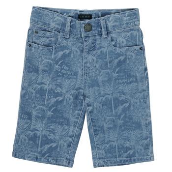 Îmbracaminte Băieți Pantaloni scurti și Bermuda Ikks XS25253-82-J Albastru