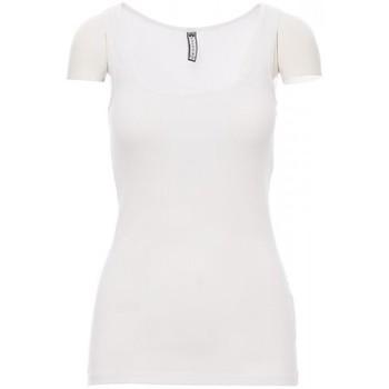 Îmbracaminte Bărbați Tricouri mânecă scurtă Payper Wear T-shirt Payper Look blanc