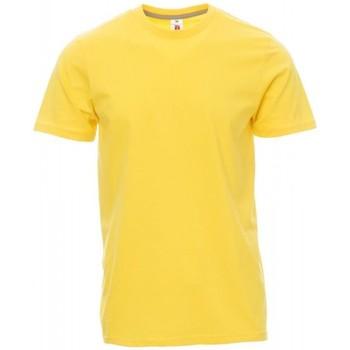 Îmbracaminte Bărbați Tricouri mânecă scurtă Payper Wear T-shirt Payper Sunset jaune