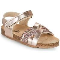 Pantofi Fete Sandale  Mod'8 KOENIA Roz / Gold