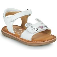 Pantofi Fete Sandale  Mod'8 CLOONIE Alb