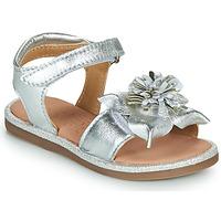 Pantofi Fete Sandale  Mod'8 PAXILLA Argintiu