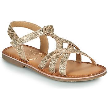 Pantofi Fete Sandale  Mod'8 CANISA Auriu