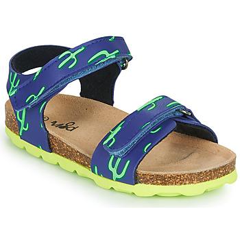 Pantofi Băieți Sandale  Mod'8 KOURTIS Albastru / Verde