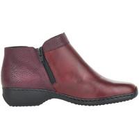 Pantofi Femei Botine Rieker Doro Bordeaux Red