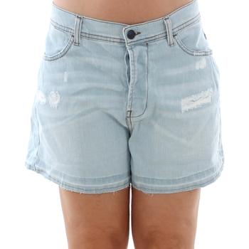 Îmbracaminte Femei Pantaloni scurti și Bermuda Sisley 4Z9R59206 SIS Azul claro