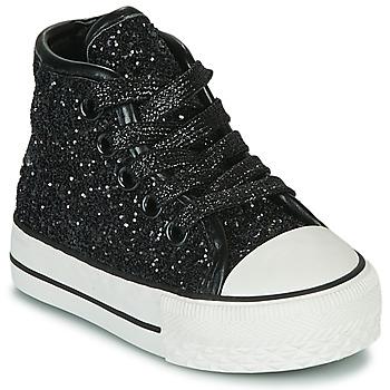 Pantofi Fete Pantofi sport stil gheata Citrouille et Compagnie OUTIL Negru