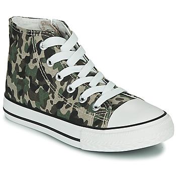 Pantofi Copii Pantofi sport stil gheata Citrouille et Compagnie OUTIL Camuflaj