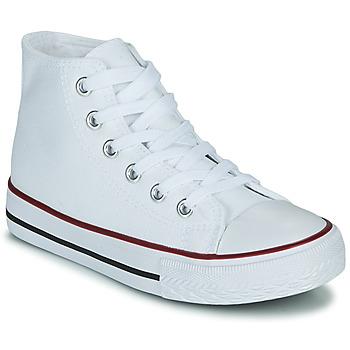 Pantofi Copii Pantofi sport stil gheata Citrouille et Compagnie OUTIL Alb
