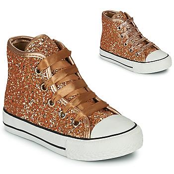 Pantofi Fete Pantofi sport stil gheata Citrouille et Compagnie OUTIL Bronz
