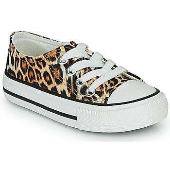 Pantofi Fete Pantofi sport Casual Citrouille et Compagnie OTAL Leopard