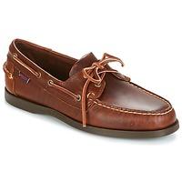 Pantofi Bărbați Pantofi barcă Sebago DOCKSIDES Maro