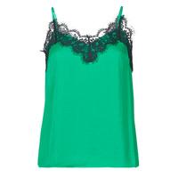 Îmbracaminte Femei Maiouri și Tricouri fără mânecă Les Petites Bombes AMY Verde