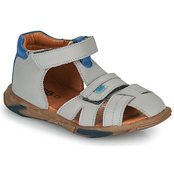 Pantofi Băieți Sandale  GBB NUVIO Gri