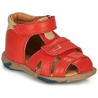 Pantofi Băieți Sandale  GBB NUVIO Roșu