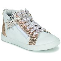 Pantofi Fete Pantofi sport stil gheata GBB VALA Alb