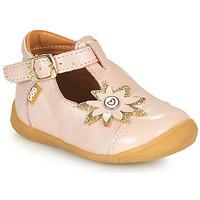 Pantofi Fete Balerin și Balerini cu curea GBB EFIRA Roz