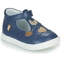 Pantofi Fete Balerin și Balerini cu curea GBB EMILA Albastru