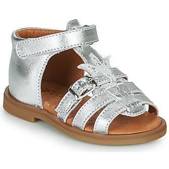 Pantofi Fete Sandale  GBB CARETTE Argintiu