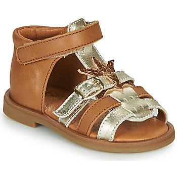 Pantofi Fete Sandale  GBB CARETTE Maro