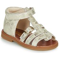 Pantofi Fete Sandale  GBB PHILIPPINE Bej / Auriu