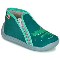 Pantofi Fete Papuci de casă GBB APOMO Verde