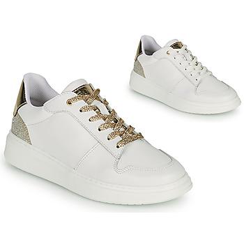 Pantofi Fete Pantofi sport Casual BOSS NILLA Alb / Auriu