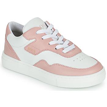 Pantofi Fete Pantofi sport Casual BOSS PAOLA Alb / Roz