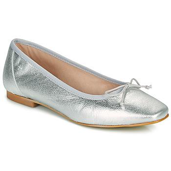 Pantofi Femei Balerin și Balerini cu curea Betty London ONDINE Argintiu