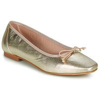 Pantofi Femei Balerin și Balerini cu curea Betty London ONDINE Auriu