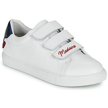 Pantofi Femei Pantofi sport Casual Bons baisers de Paname EDITH MADAME MONSIEUR Alb