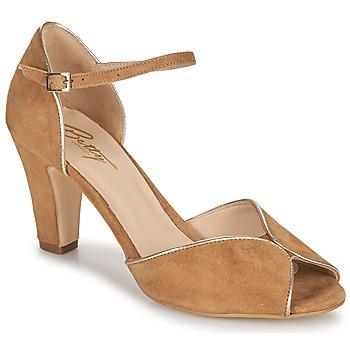 Pantofi Femei Sandale  Betty London ORAD Camel