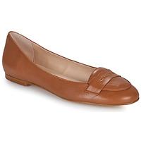 Pantofi Femei Balerin și Balerini cu curea Betty London OVINOU Camel