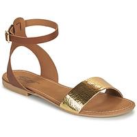 Pantofi Femei Sandale  Betty London GIMY Camel / Auriu