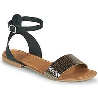 Pantofi Femei Sandale  Betty London GIMY Negru / Metal