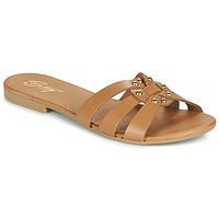 Pantofi Femei Papuci de vară Betty London OISO Camel