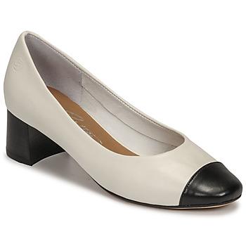 Pantofi Femei Pantofi cu toc Betty London OMINA Alb / Negru