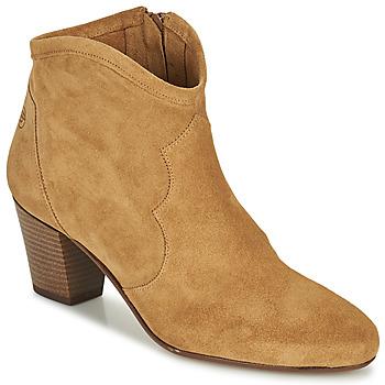 Pantofi Femei Botine Betty London OISINE Camel
