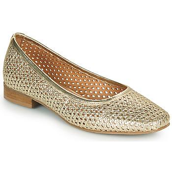 Pantofi Femei Balerin și Balerini cu curea Betty London OCARA Auriu