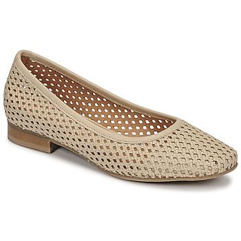 Pantofi Femei Balerin și Balerini cu curea Betty London OCARA Ecru