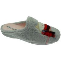 Pantofi Femei Papuci de casă Riposella RIP4592gr grigio