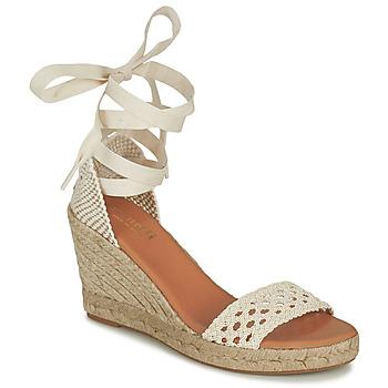 Pantofi Femei Sandale  Minelli SHELLYE Ecru