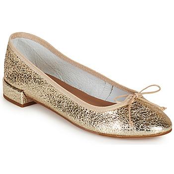 Pantofi Femei Balerin și Balerini cu curea Minelli PLIVIA Auriu