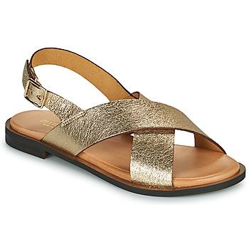 Pantofi Femei Sandale  Minelli DONA Auriu