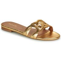 Pantofi Femei Papuci de vară Minelli NANCIA Auriu